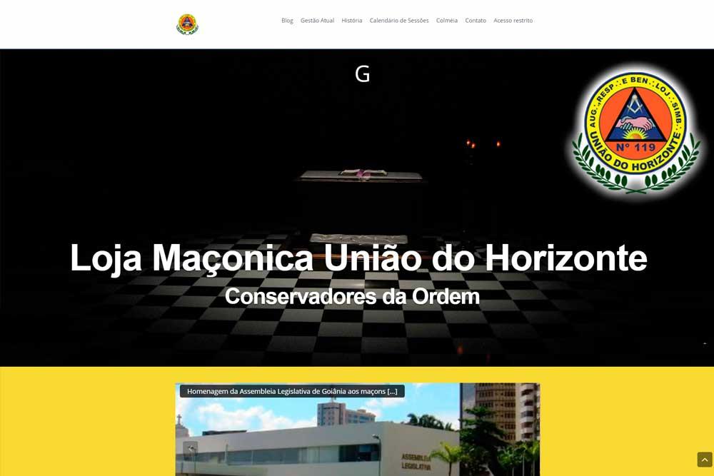 Projeto Loja Maçonica União do Horizonte 119